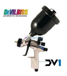 Devilbiss DV1 digitális HVLP+ Pisztoly lakkozáshoz 1.2