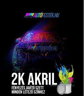Autó 2K fényezés-javító festék stift Színkód Alapján - Akril Színek