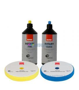 RUPES™ Polírszett - Polírpaszta + Polírszivacs Csomag Nagy (150mm)